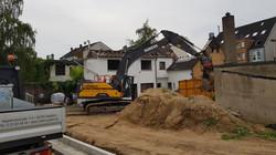 Abbruch Wohngebäude