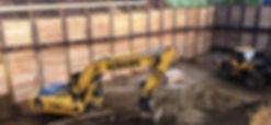 Robers Kettenbagger im Tiefbau