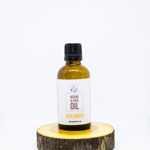 Rich Amber Beard Oil