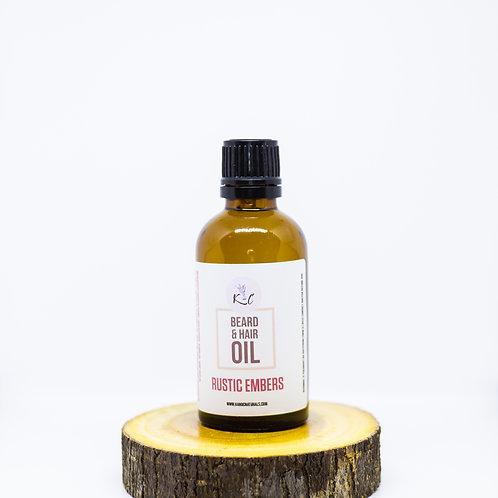 Rustic Embers Beard Oil