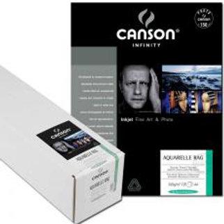 Canson Aquarelle Rag 240 or 310 - Matte