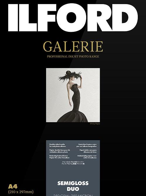 Ilford Galerie SemiGloss Duo 250