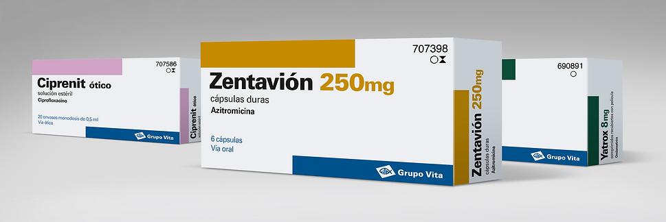 Diseño de Packaging para Grupo Vita