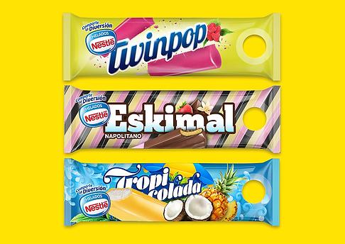 Diseño y creacion de Packaging para la empresa Nestle