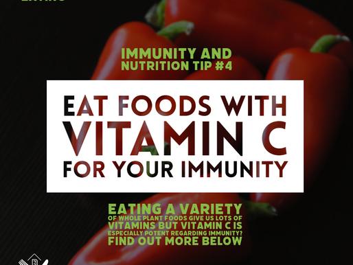 Vitamin C for your immunity