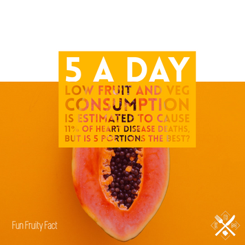 5 a day - is that enough fruits and veggies?