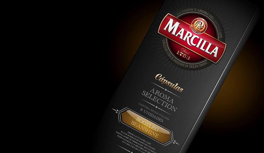 diseño de Packaging para Marcilla