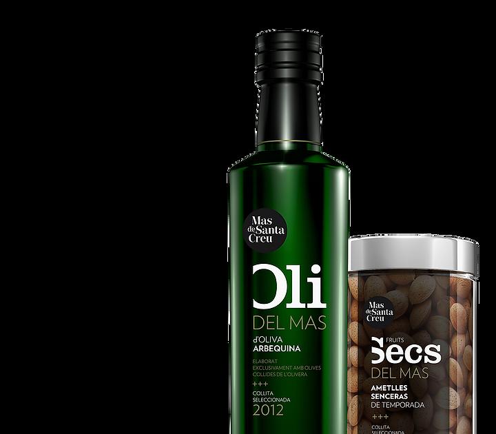 Branding productos Mas de Santa Creu