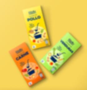 Diseño de gama de Packaging para Aldi
