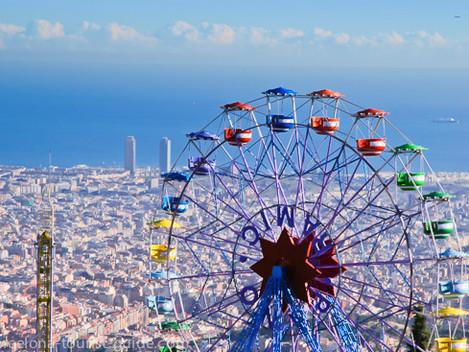 ברצלונה- עיר האטרקציות לילדים