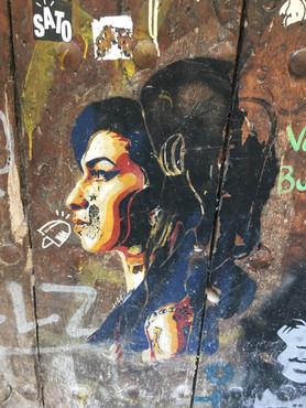 גרפיטי בשכונת רבאל