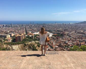 נוף מהר הכרמל בברצלונה