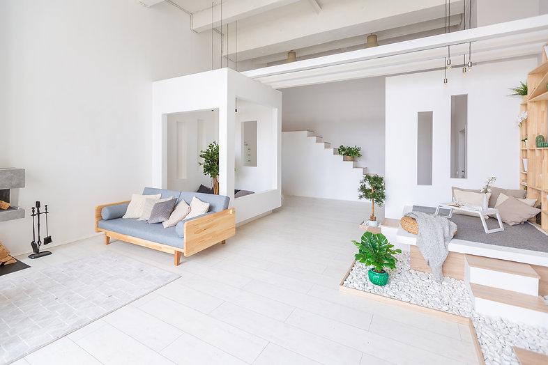 Luxury fashionable modern design studio