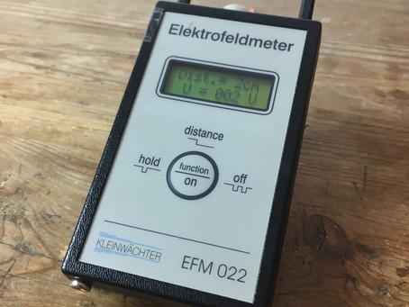 Das Elektrofeldmeter