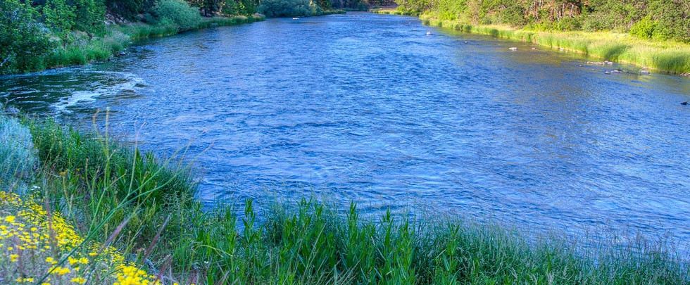Beautiful Klamath river