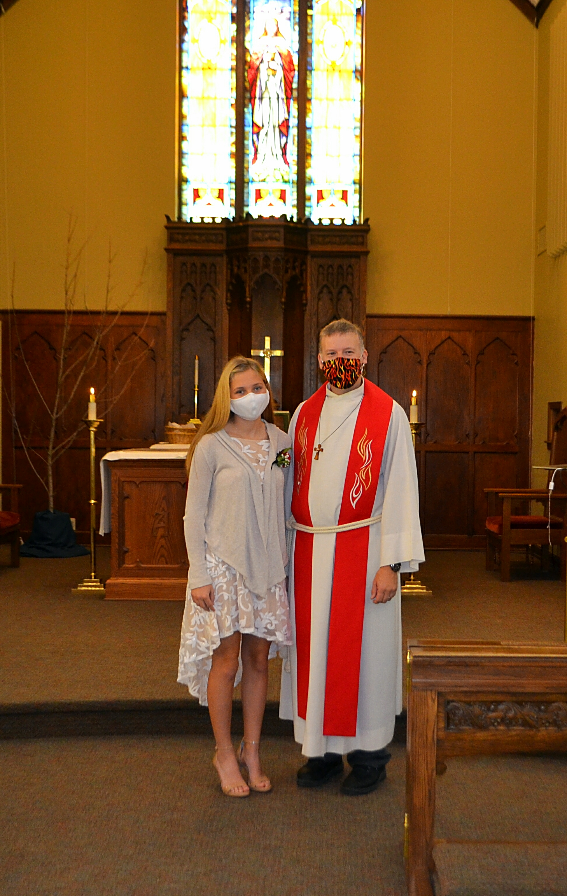 Jenna Bechel Affirmation of Baptism 2