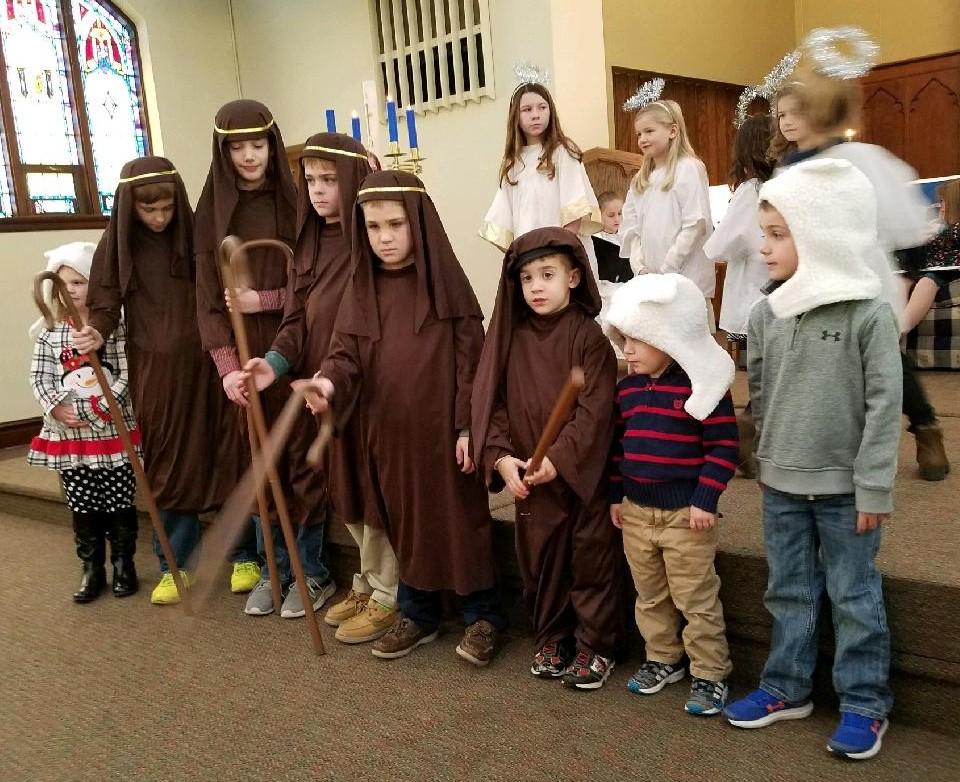 shepherds & angels