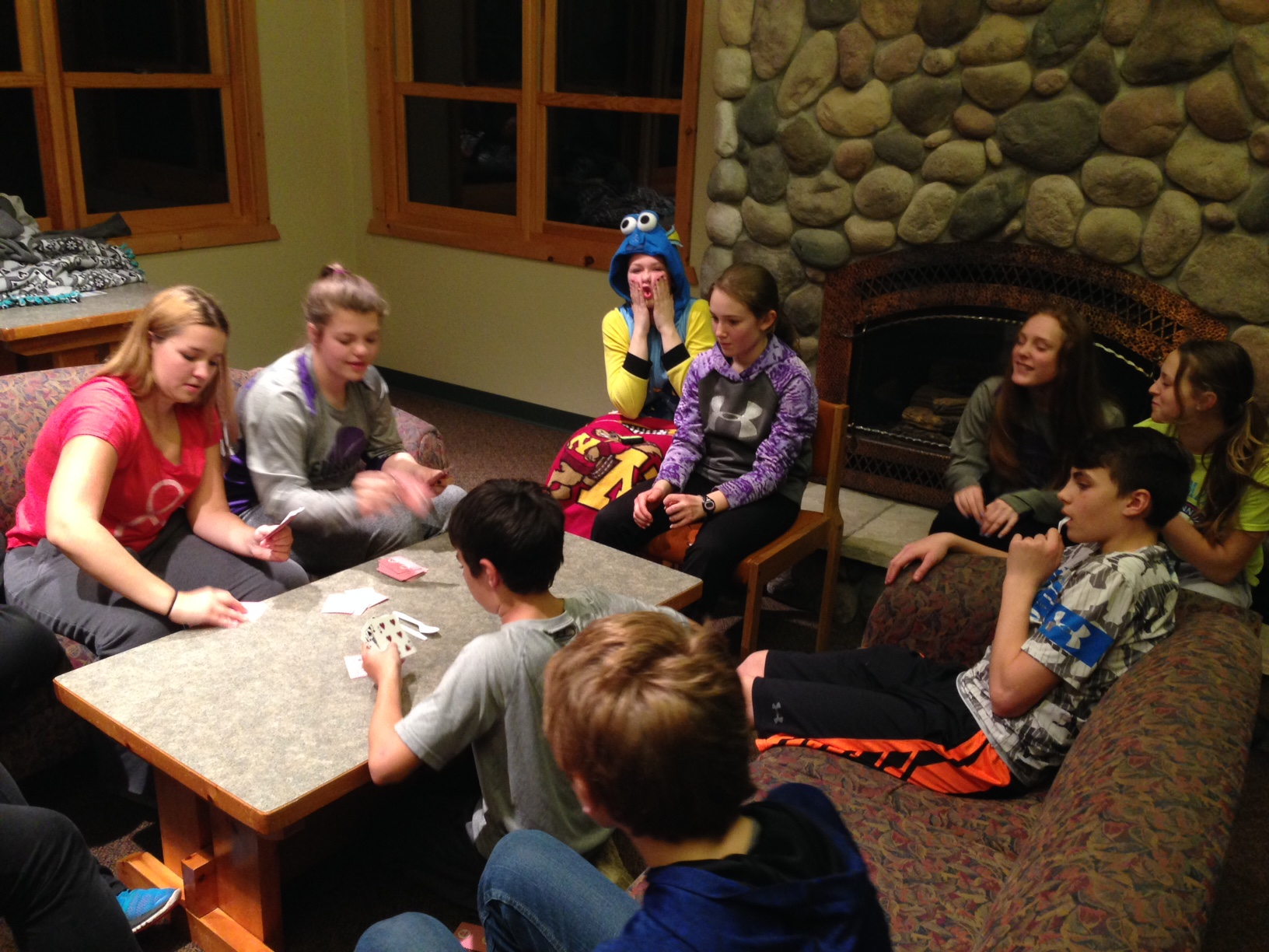 confirmation retreat at luther point