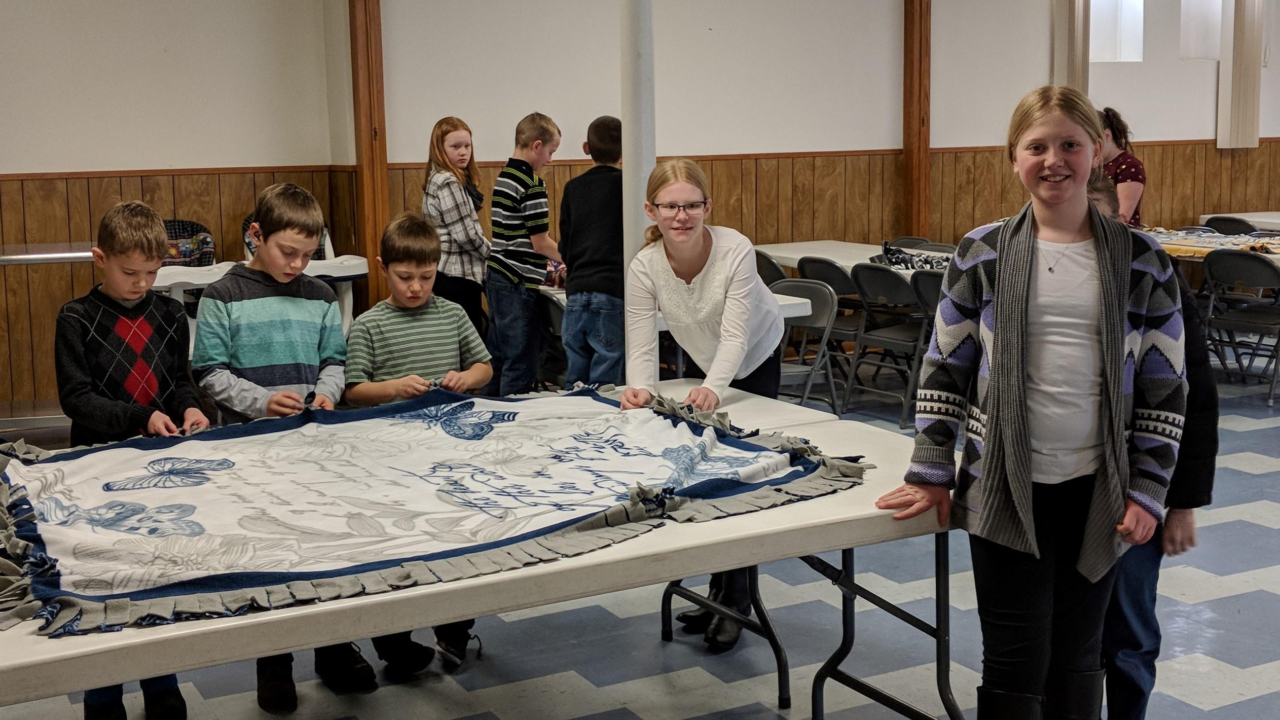 sunday school blanket ministry