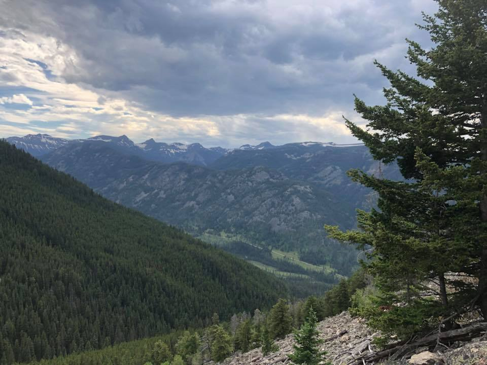 mountains at christikon