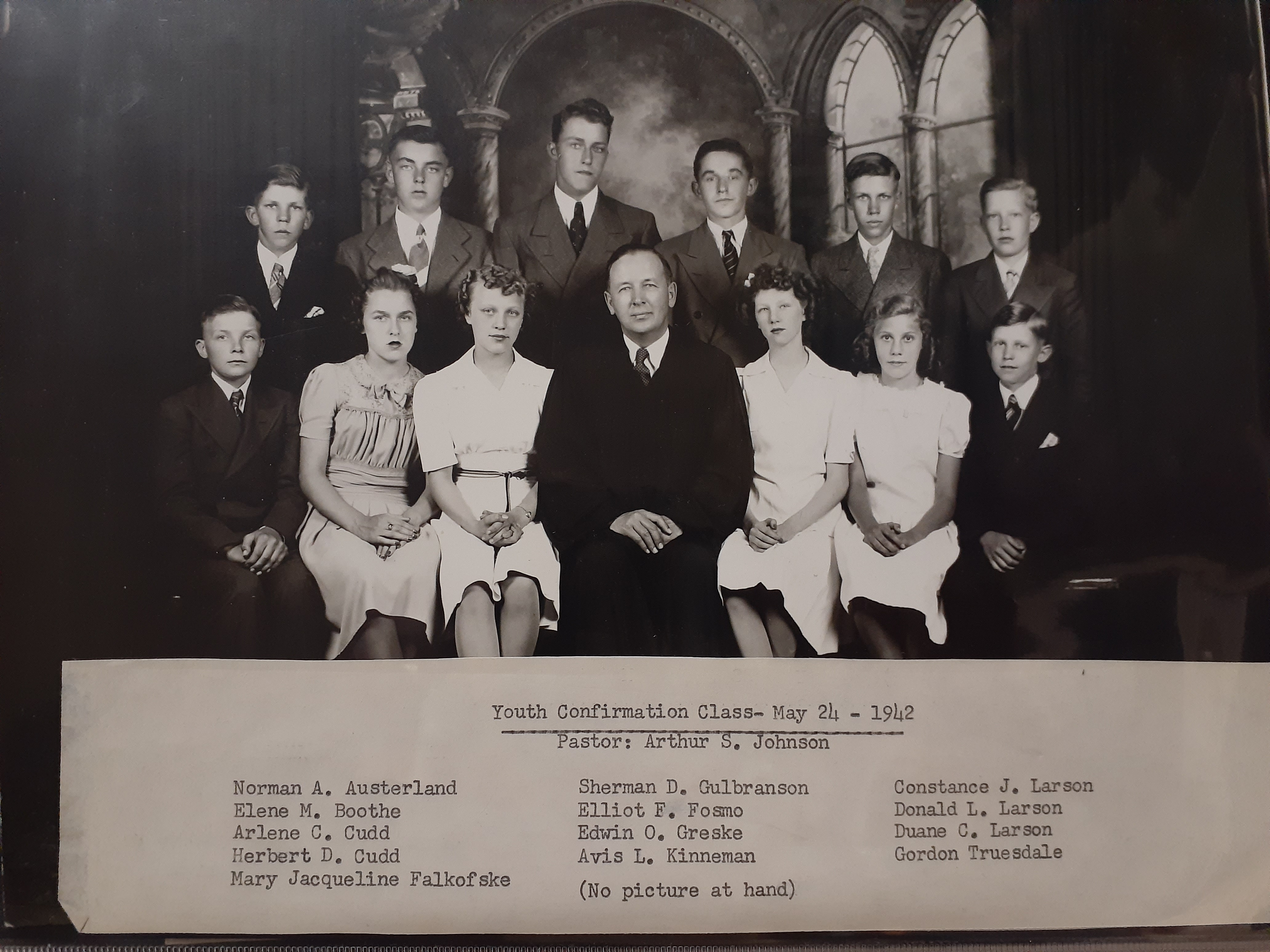 confirmation pic 1942