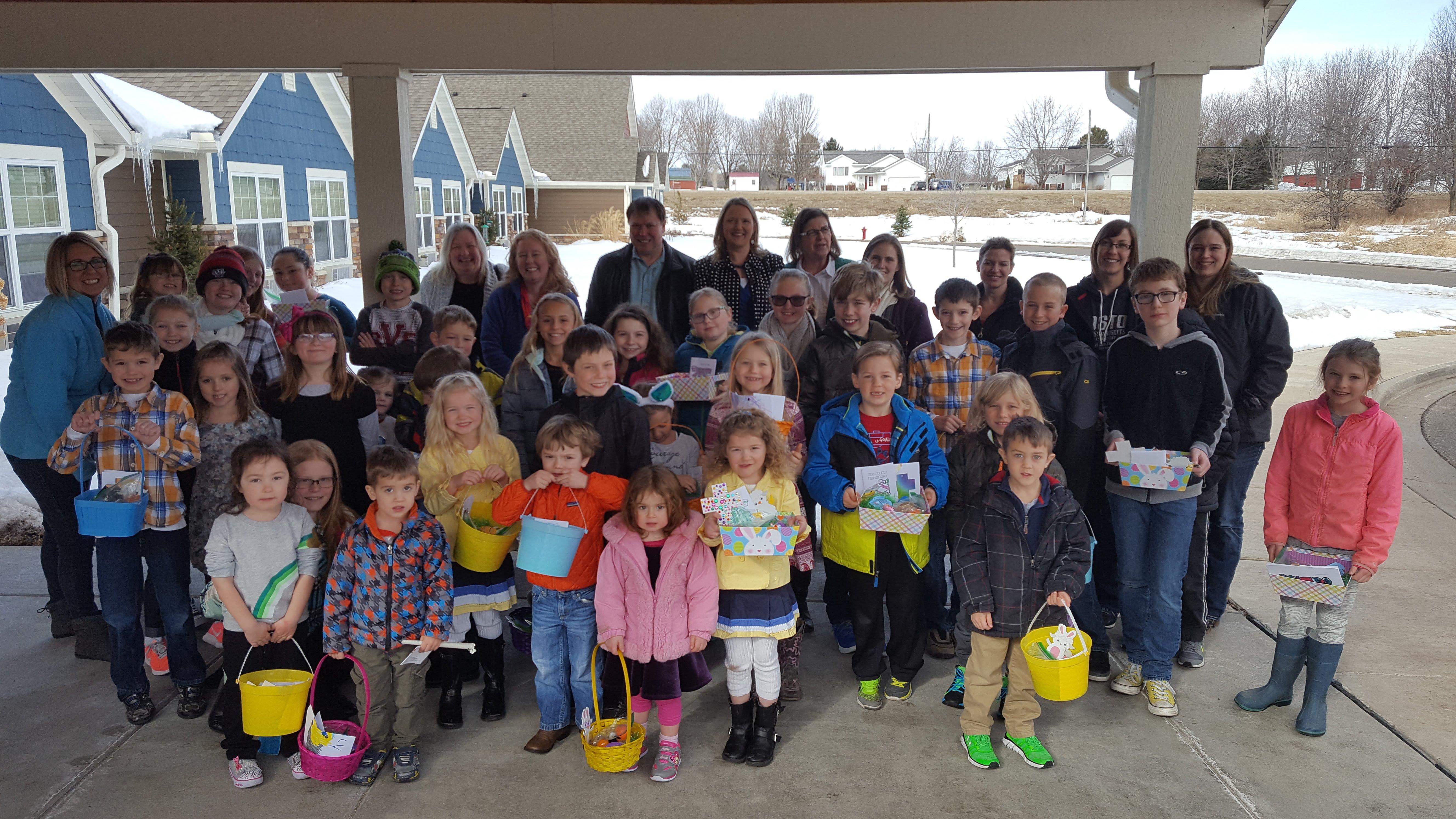 Deliver Easter Baskets to Shut-Ins