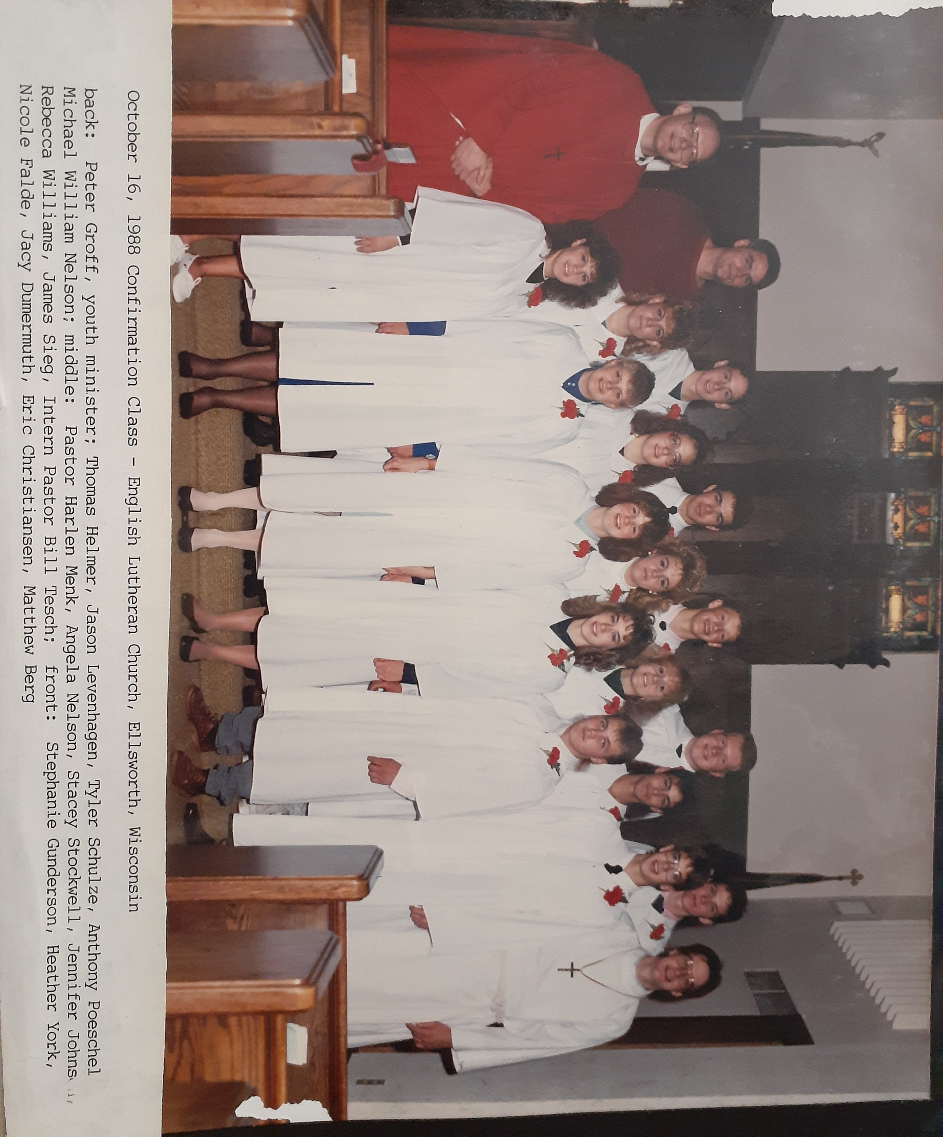 confirmation pic 1988