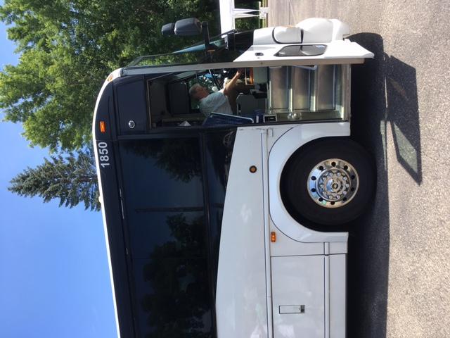bus leaving