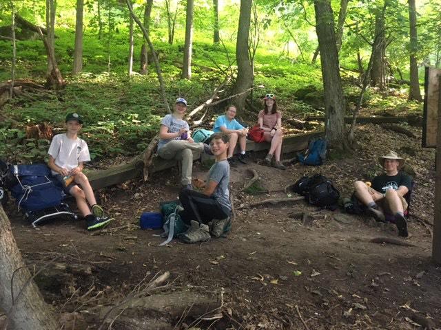 Christikon practice Hike 2