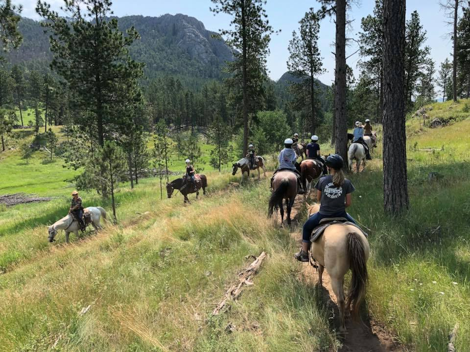 Christikon Group Horse pic riding