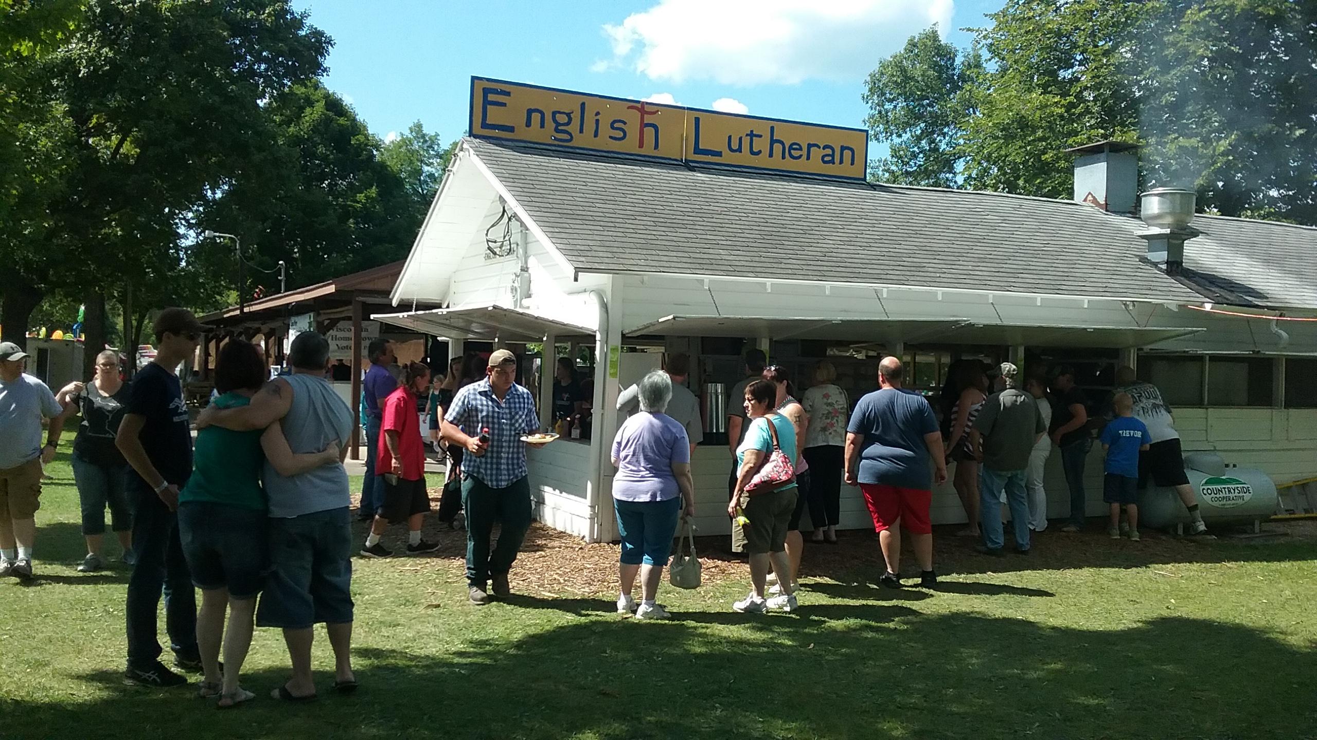 Pierce County Fair Stand