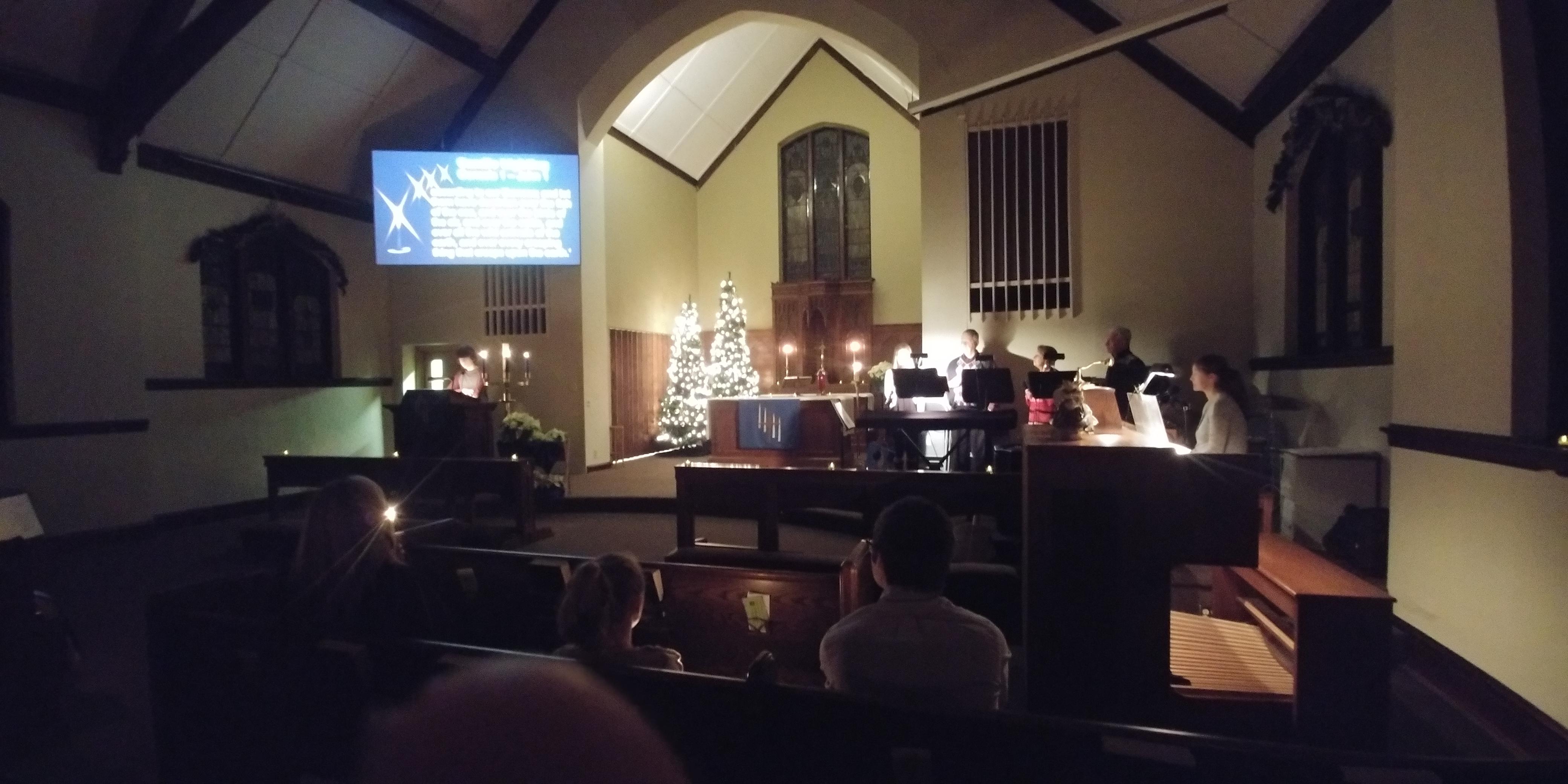 Christmas Candlelight worship
