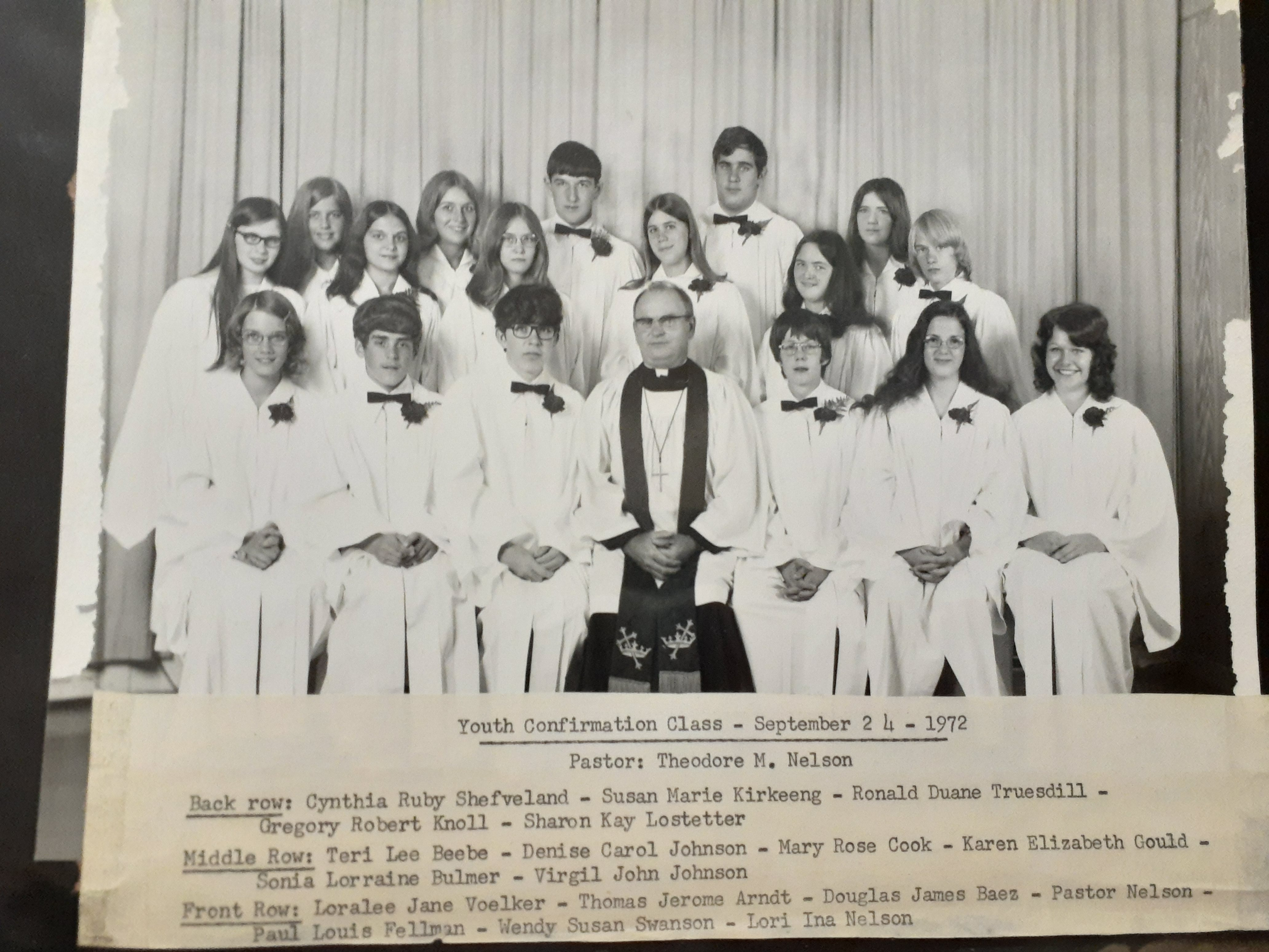 confirmation pic 1972