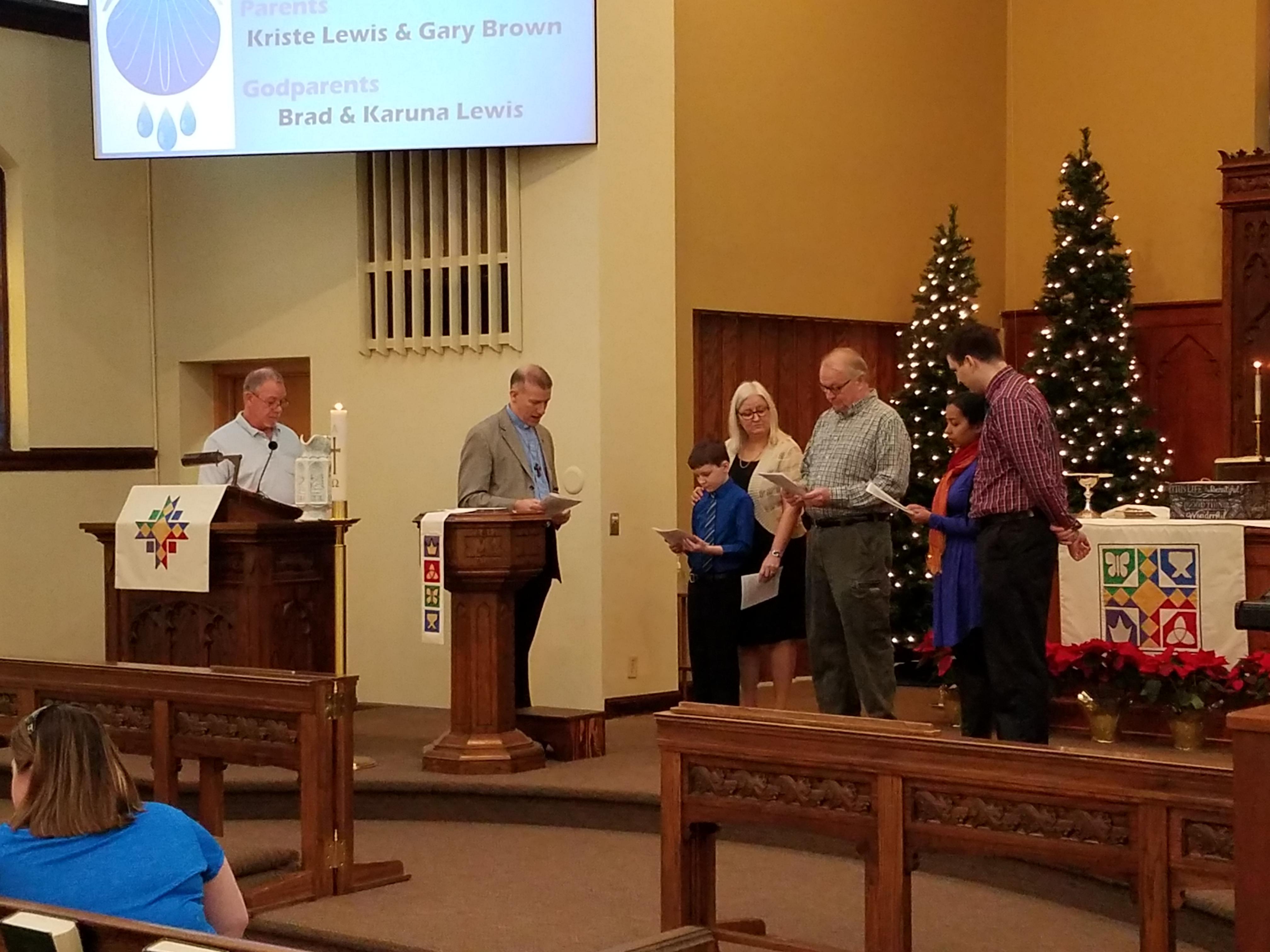 Joey Lewis Baptism 4