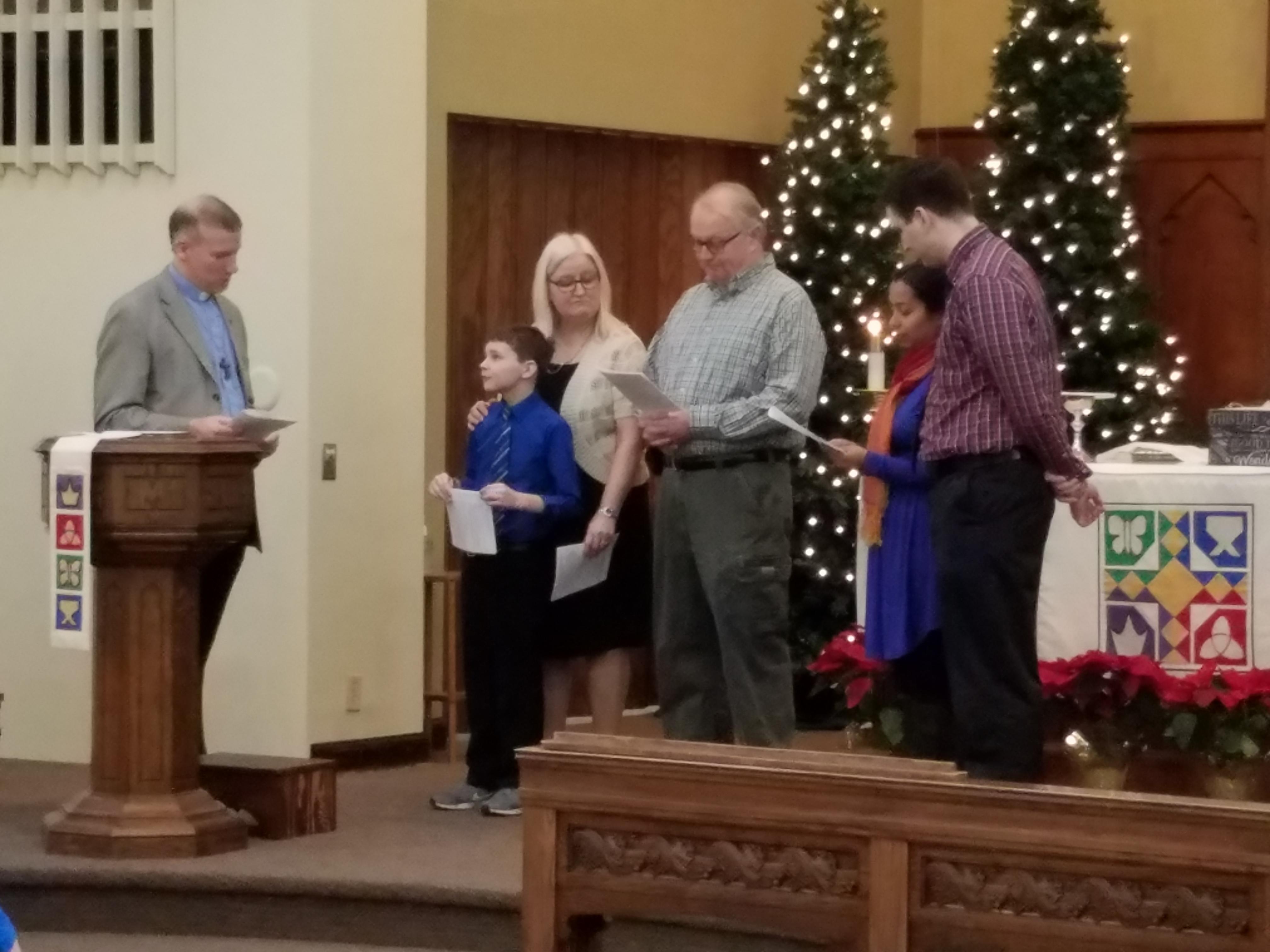 Joey Lewis Baptism 3