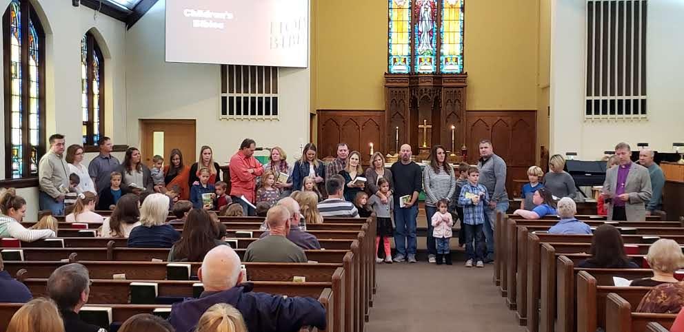 Children's Bible presentation oct 2019 2