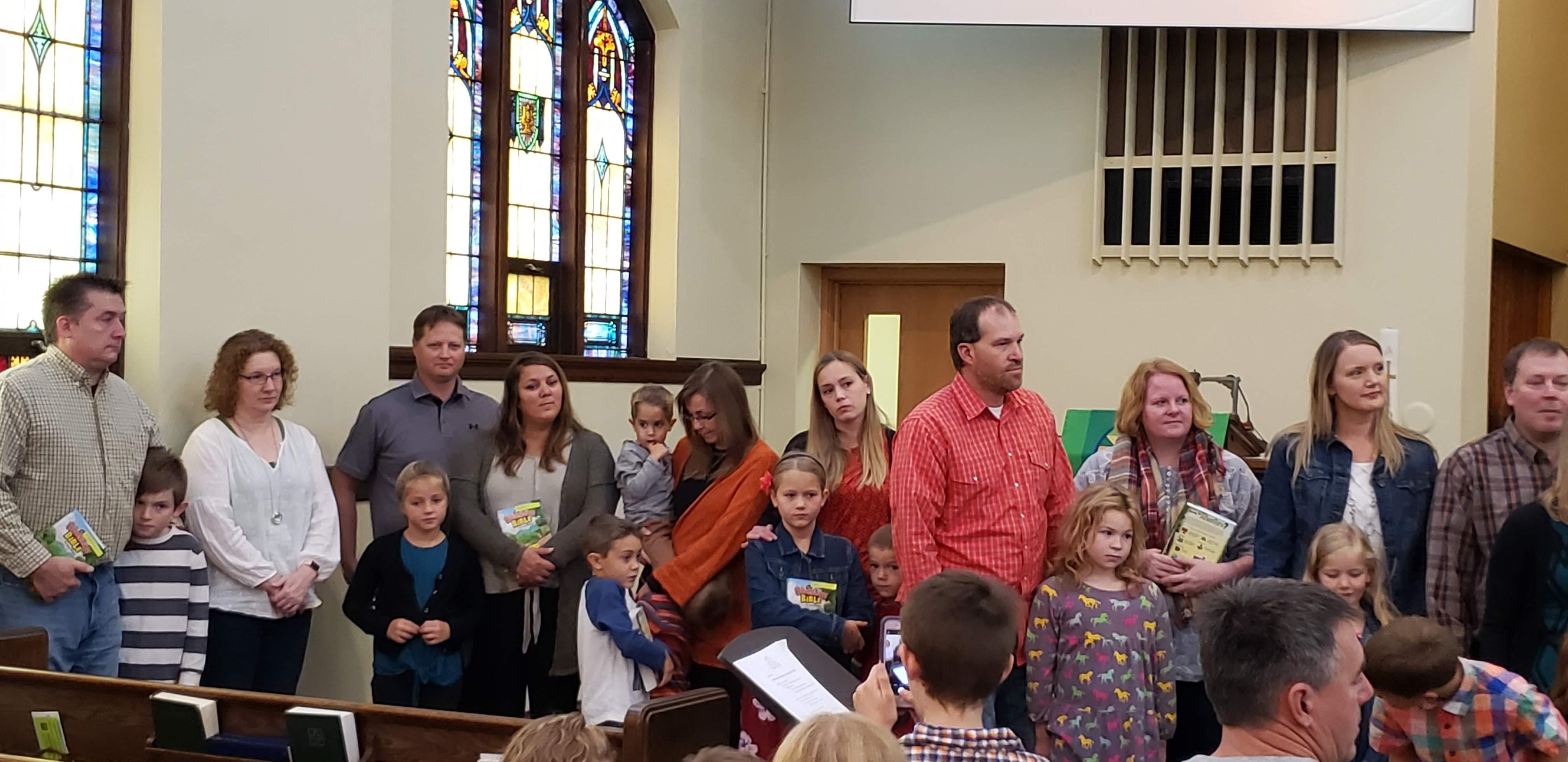 Children's Bible presentation oct 2019 5