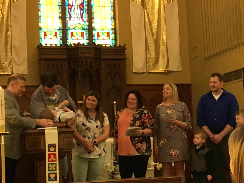 Kayden H Baptism