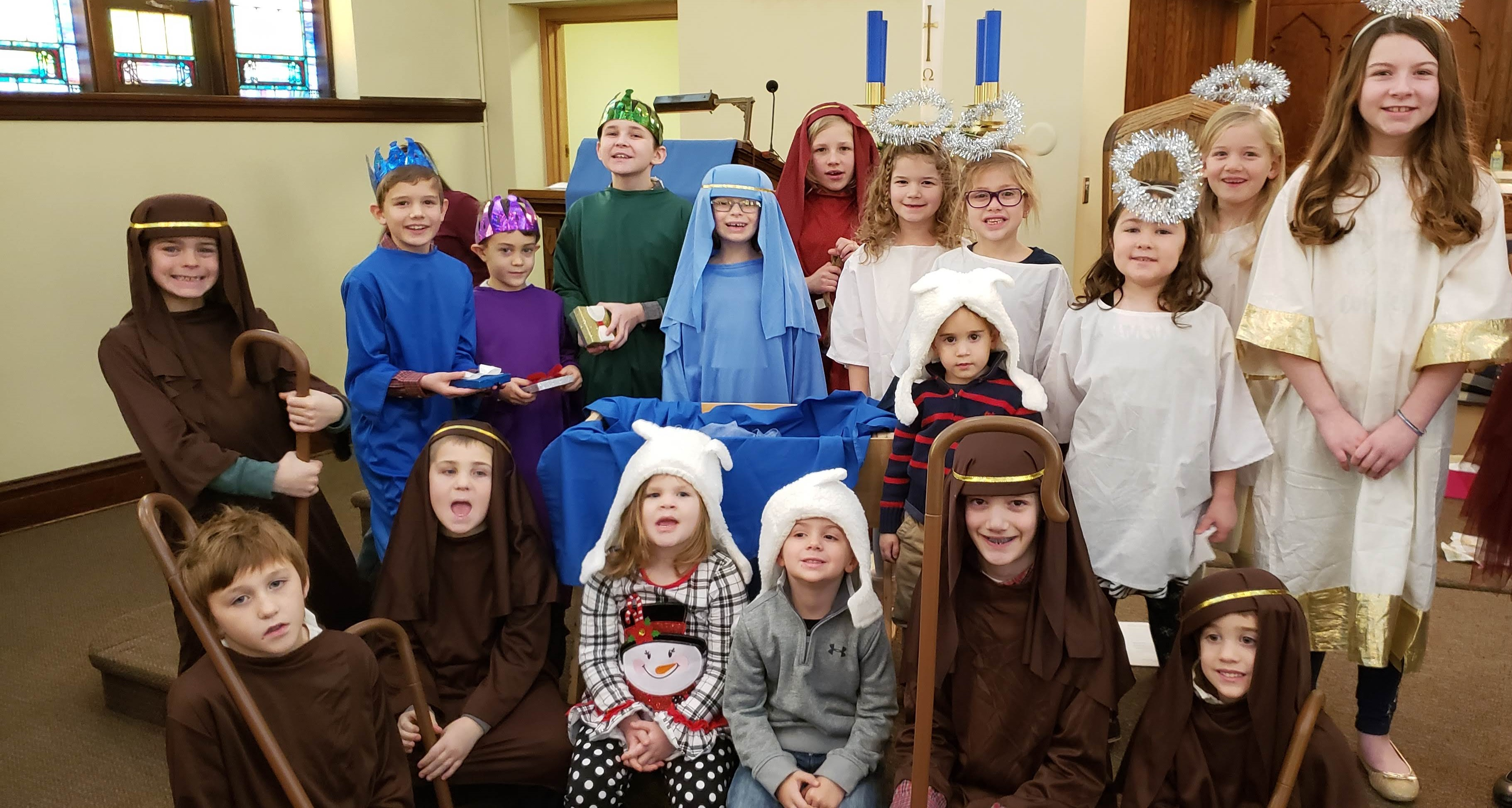 Nativity characters