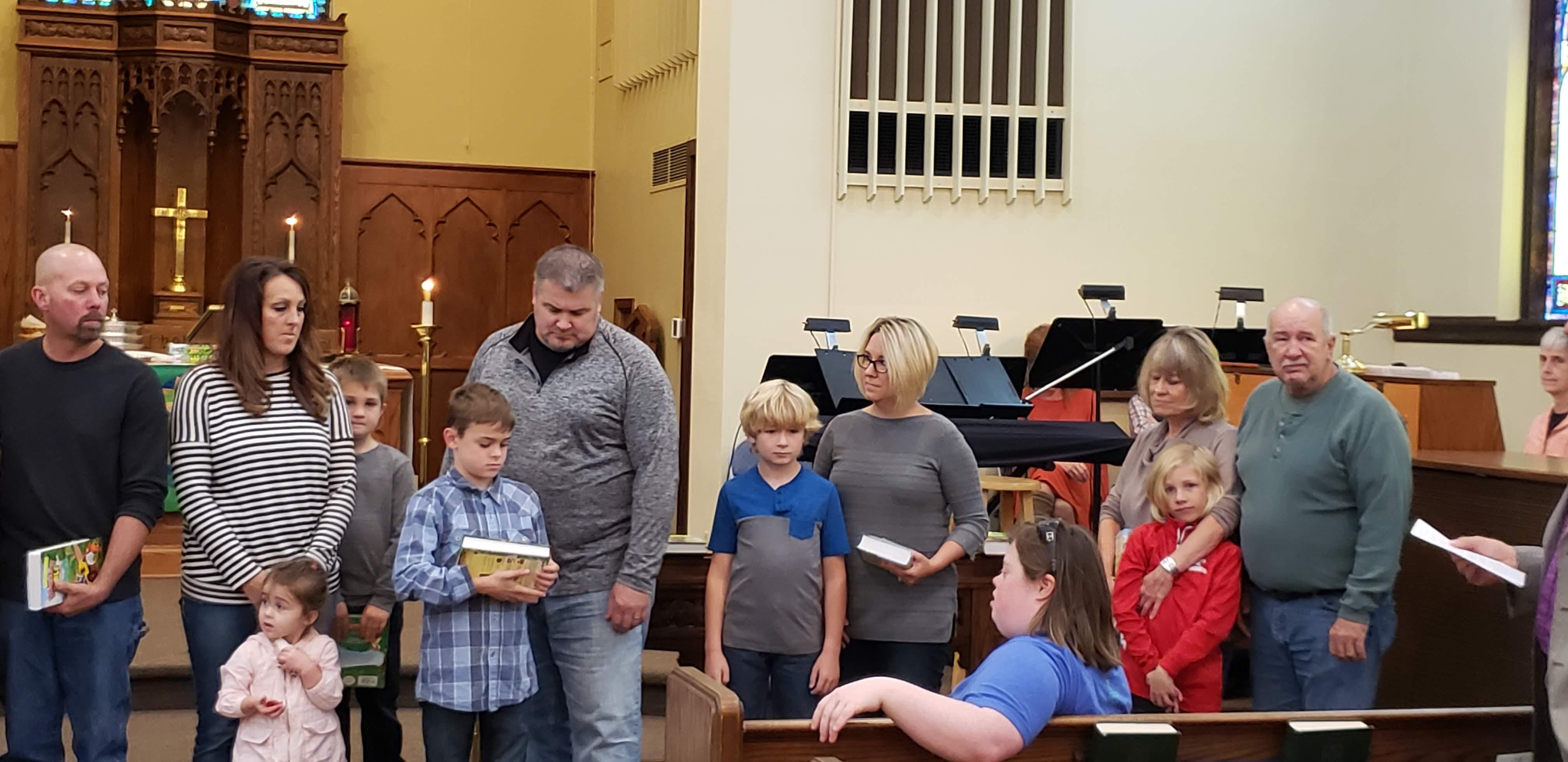Children's Bible presentation oct 2019 3