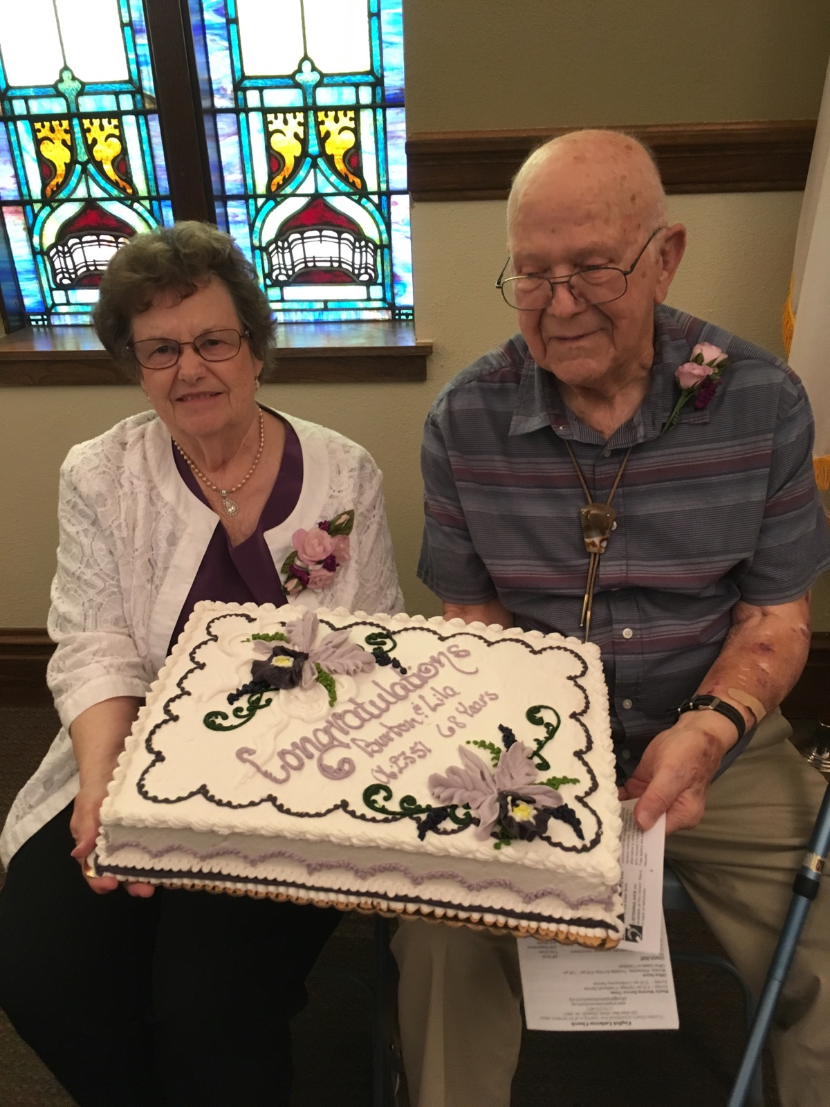 Burt & Lila Anniversary Reception