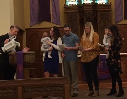 Samuel Melstrom Baptism