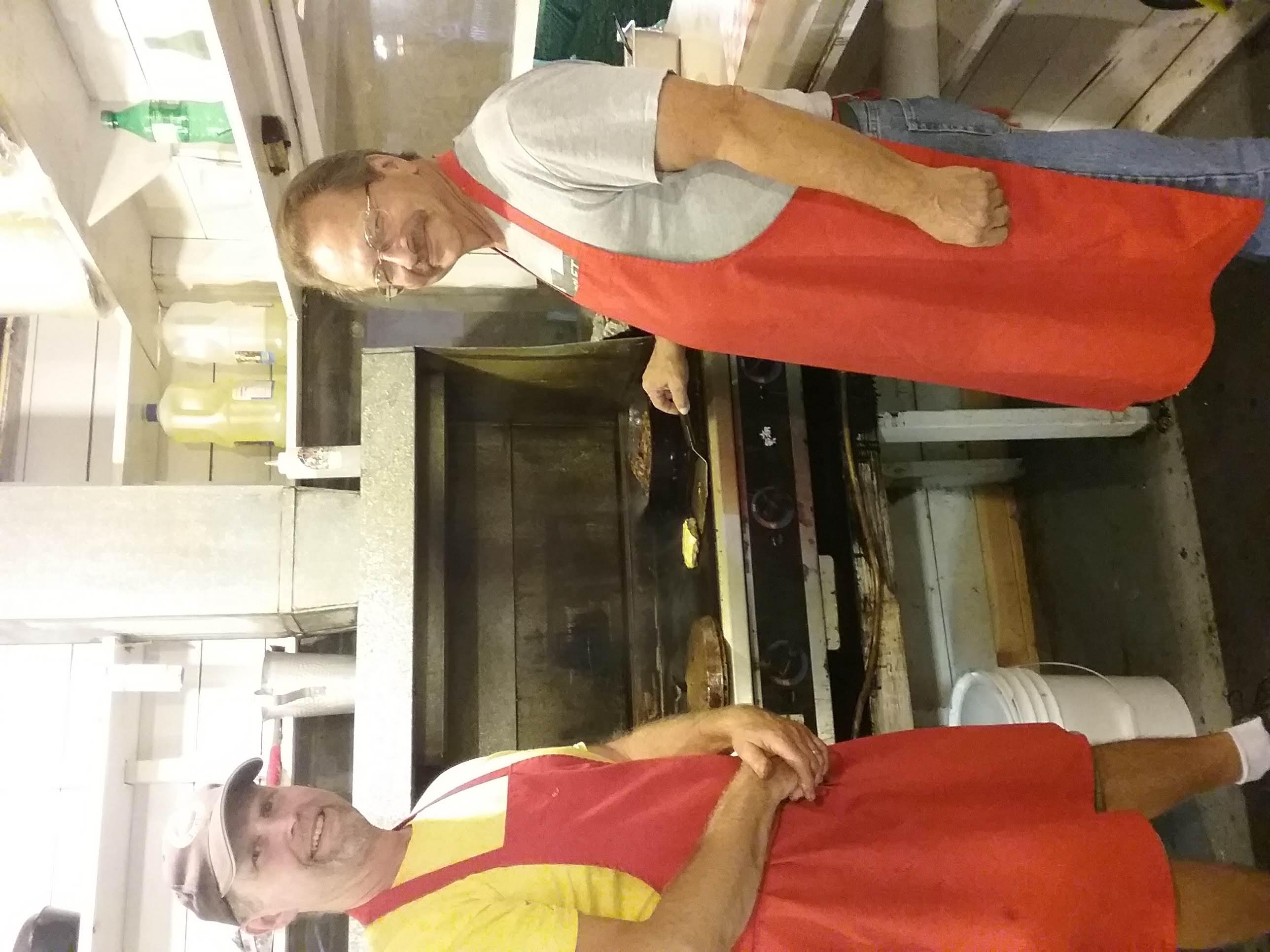 Frying Burgers