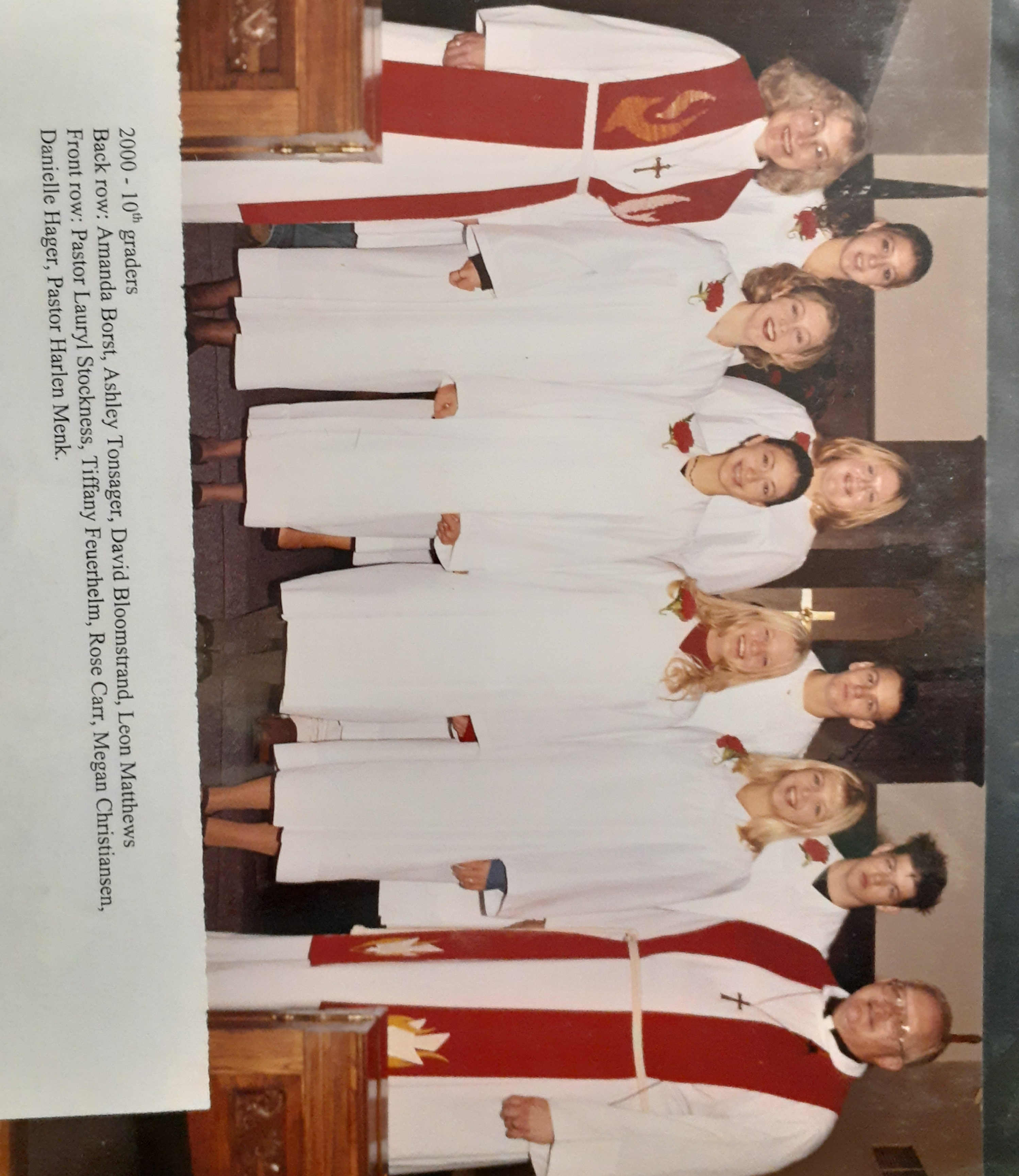 Confirmation pic 2000