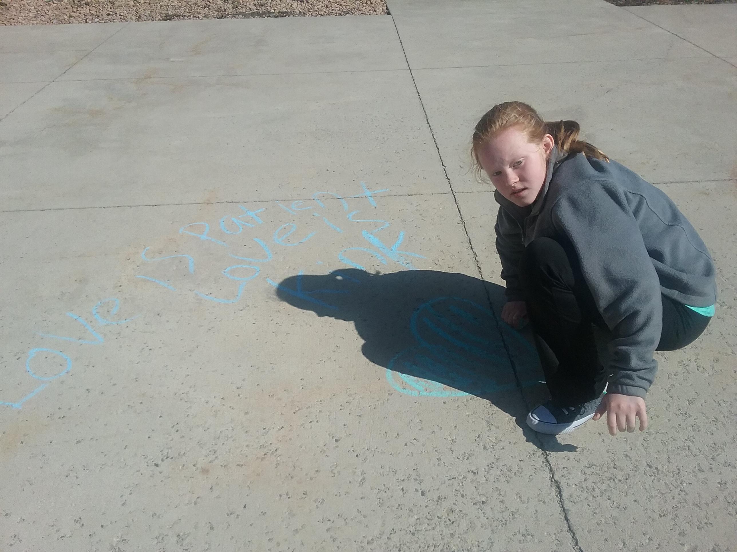 sunday school chalk