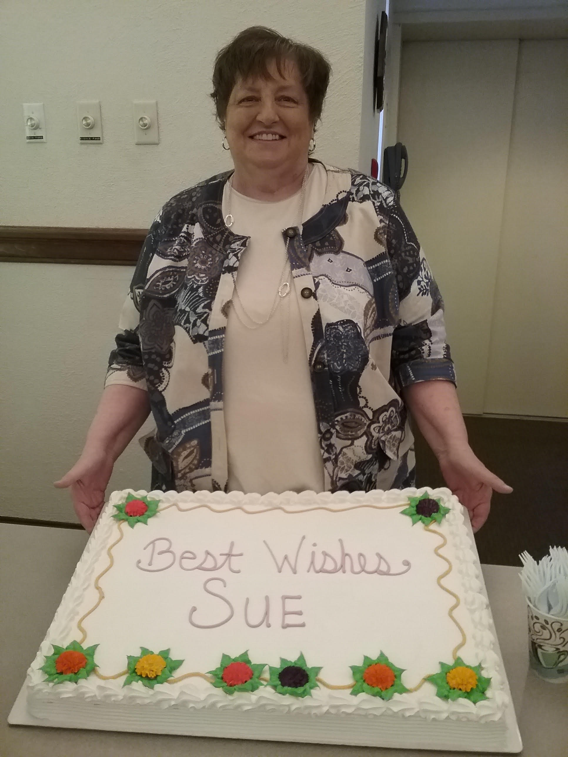 farewell to Sue