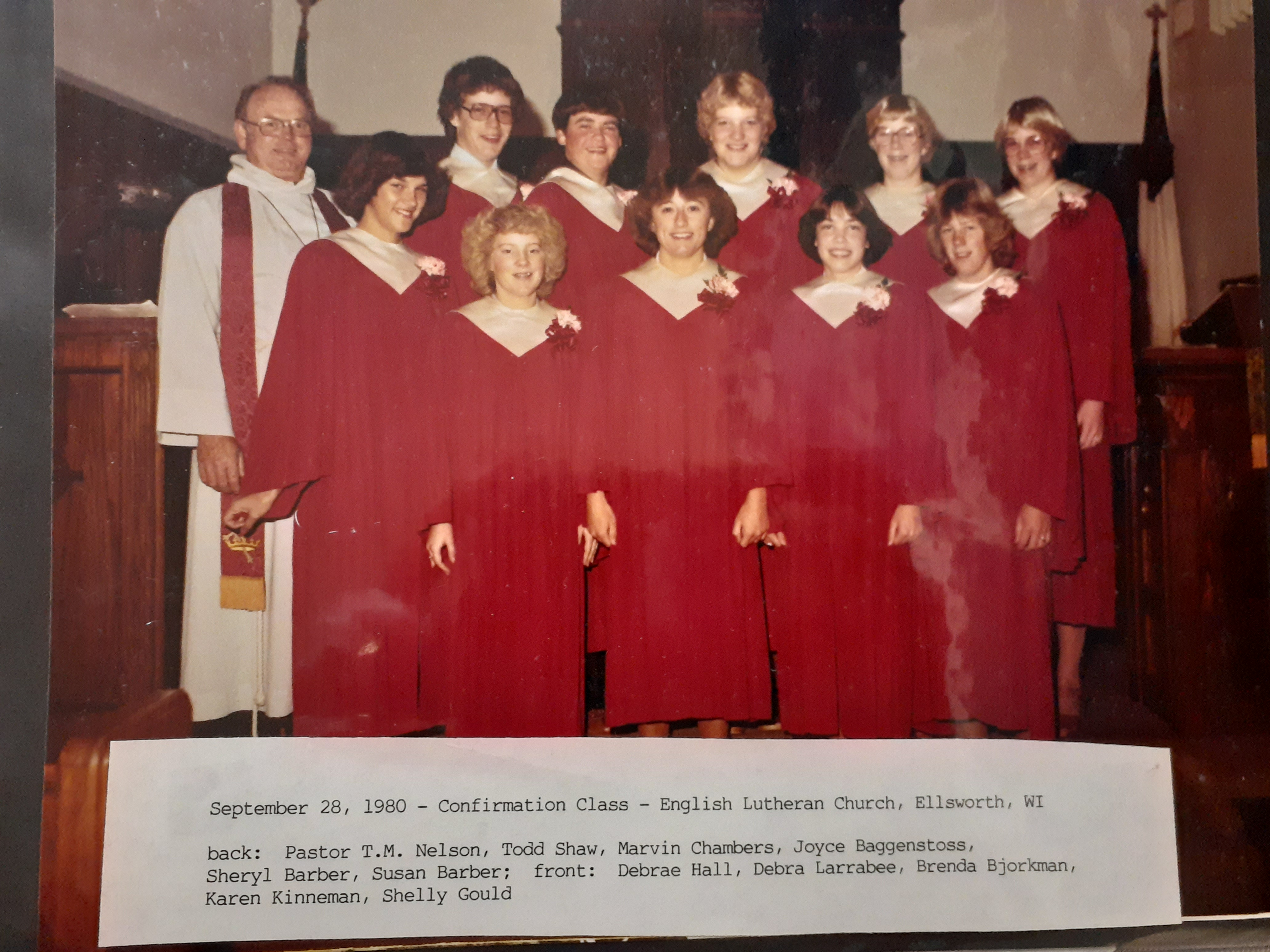 confirmation pic 1980