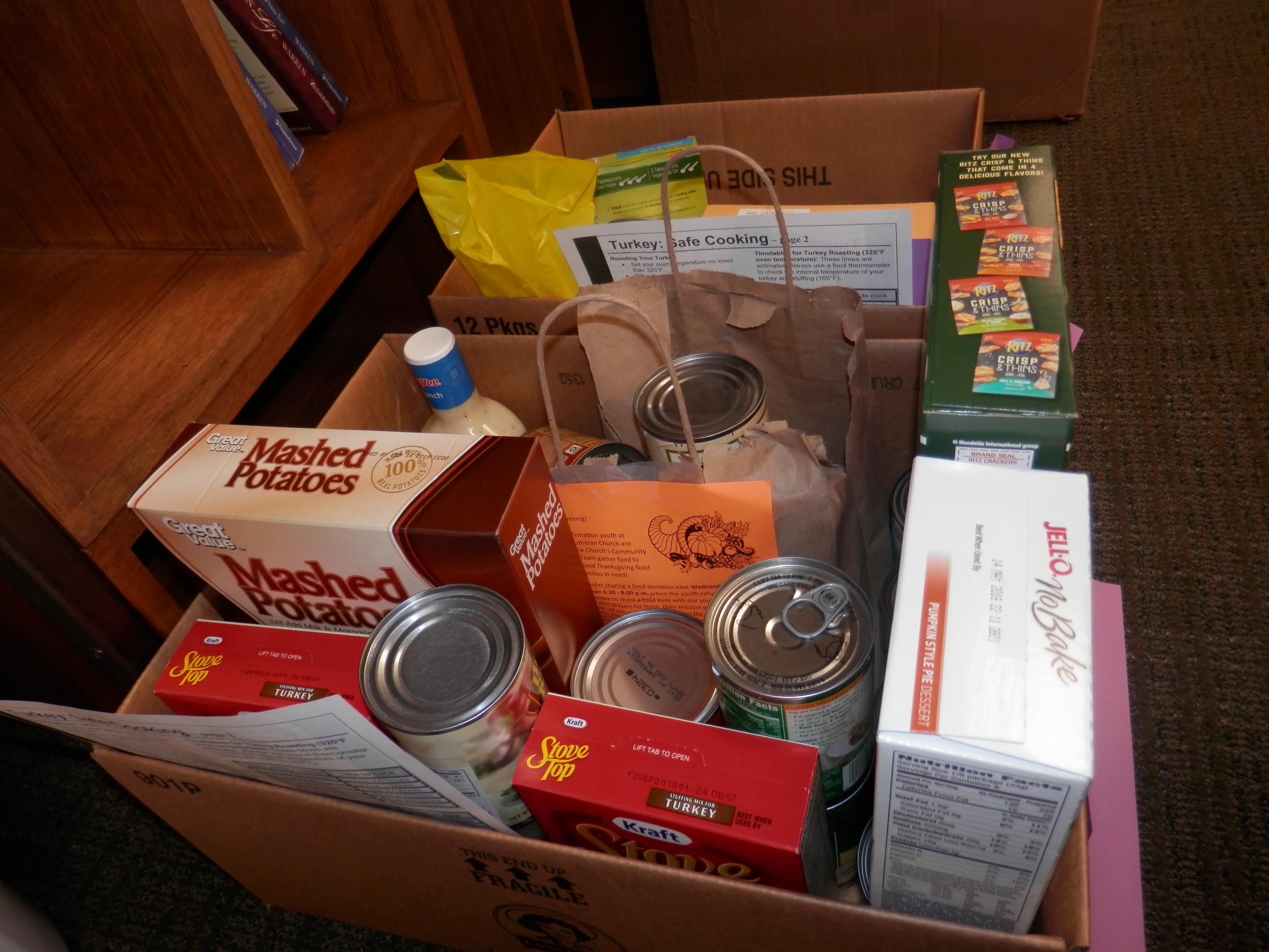 Backpack Program Food Shelf