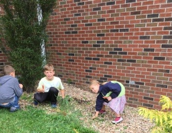 kids weeding 2