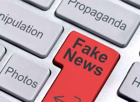 Estamos entretidos com factoides e fake news